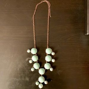 Jewelry - Mint Green Statement Necklace